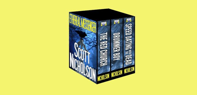 "$0.99 ""Ethereal Messenger: Three Novels"" by Scott Nicholson"