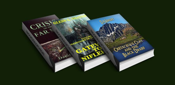 Free Three Scifi & Fantasy Kindle Books this Tuesday!
