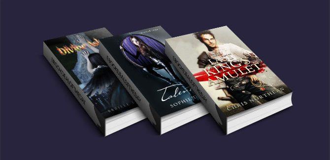 three fantasy/romance kindle books