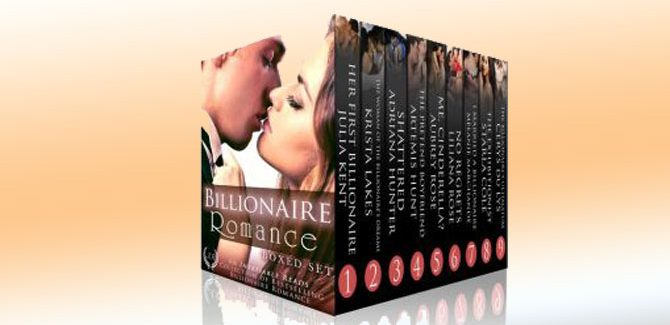 a romance boxed set Her Billionaires: Boxed Set (The Complete Collection, Books 1-4) by Adriana Hunter, Aubrey Rose, Julia Kent, Melanie Marchande & Liliana Rhodes
