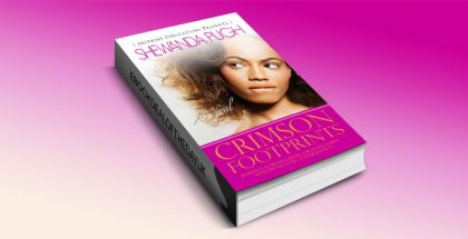 "a contemporary romance kindle book ""Crimson Footprints"" by Shewanda Pugh"