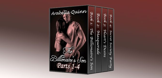 an erotic romantic suspense kindle The Billionaire's Son (Parts 1 - 4 Boxed Set) by Arabella Quinn