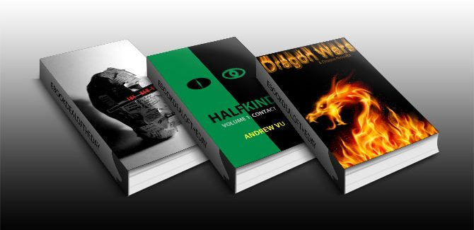 Free Three Scifi & Fantasy Kindle Books!