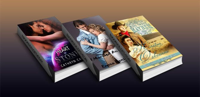 Free Three Futuristic, Historical and TimeTravel Romance Kindle books!