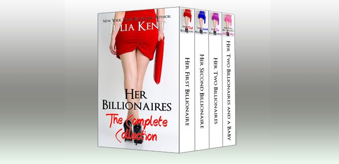 romance kindle boxed set Her Billionaires: Boxed Set (The Complete Collection Books 1-4