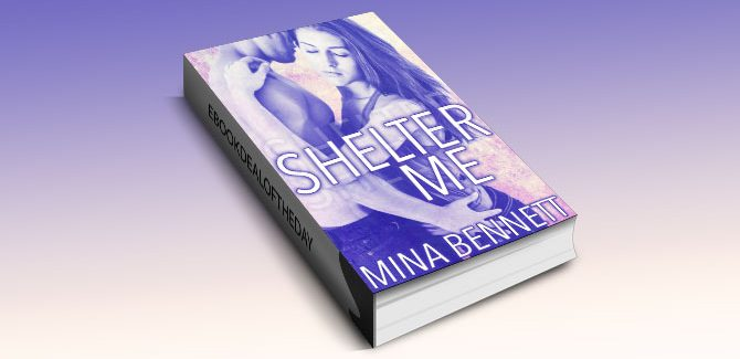 a new adult romance ebook Shelter Me by Mina Bennett
