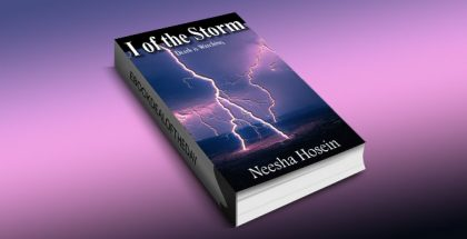 "a paranormal fiction kindle book ""I of the Storm: Death is Watching"" by Neesha Hosein"