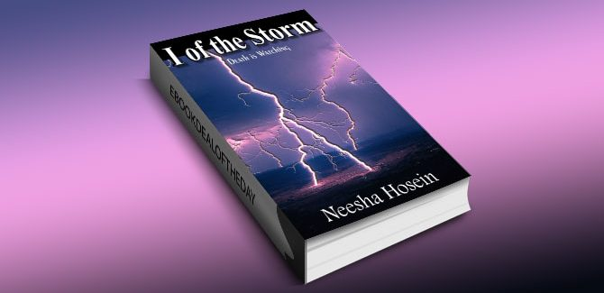 a paranormal fiction kindle book I of the Storm: Death is Watching by Neesha Hosein