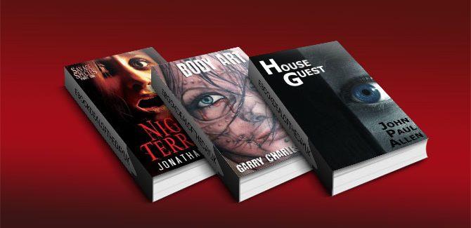 Free Three Horror Fiction Nook books!