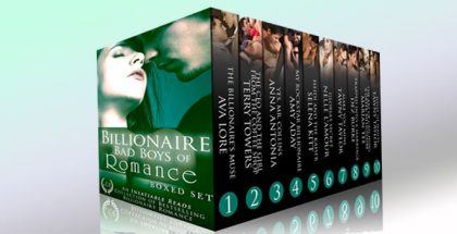 "a 10 romance book bundle ""Billionaire Bad Boys of Romance"" by Various authors"