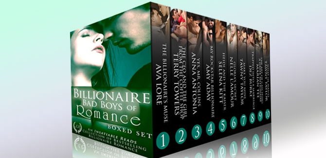 a 10 romance book bundle Billionaire Bad Boys of Romance by Various authors