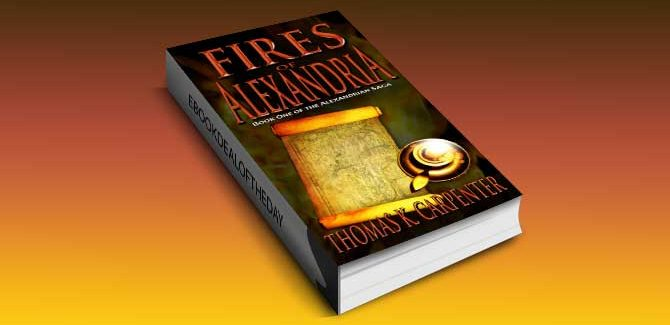 a historical steampunk adventure ebook Fires of Alexandria by Thomas K. Carpenter