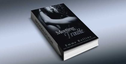"a romance kindle book ""Meeting Trouble"" by Emme Rollins"