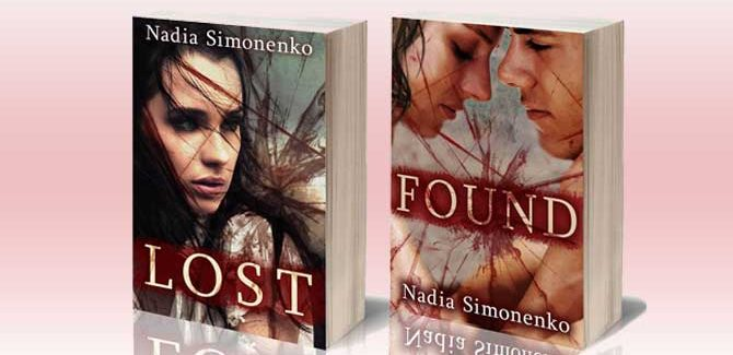 a new adult college romance Lost and Found: The Complete Series by Nadia Simonenko