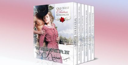 "a romance boxed set ebook ""Western Kisses - Old West Christmas Romances (Boxed Set)"" by Carré White, Anya Karin, Kirsten Osbourne, Flora Dare, AnnMarie Oakes"