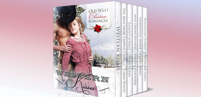 a romance boxed set ebook Western Kisses - Old West Christmas Romances (Boxed Set) by Carré White, Anya Karin, Kirsten Osbourne, Flora Dare, AnnMarie Oakes