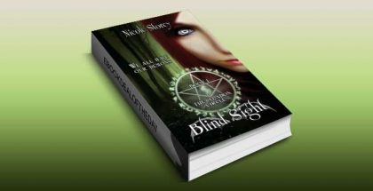 "a ya paranormal kindle book ""Blind Sight (The Celadon Circle) Book One"" by Nicole Storey"