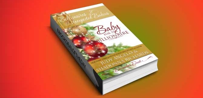 a romantic fiction kindle book Baby for the Billionaire (2 Stories in 1) by Judy Angelo, Shadonna Richards