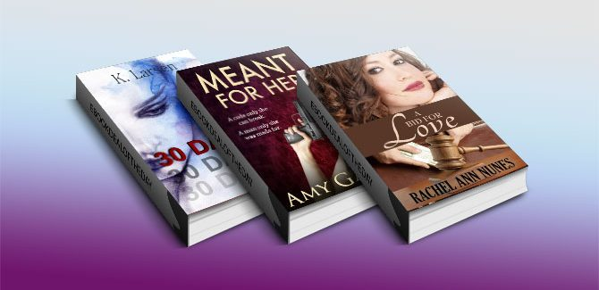 Free Three Romantic Mystery, Thriller & Suspense Kindle books!