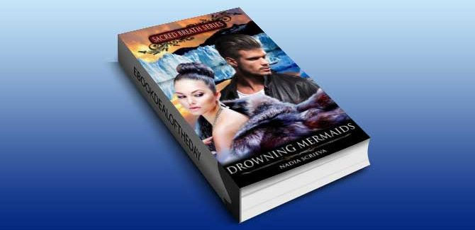 a paranormal romance, scifi & fantasy ebook Drowning Mermaids by Nadia Scrieva