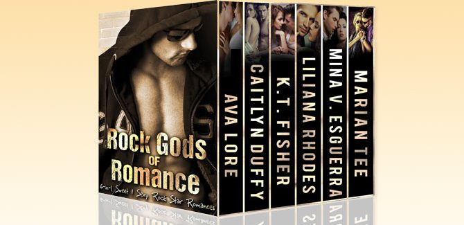 a romance boxed set Rock Gods of Romance Boxed Set by Liliana Rhodes, Ava Lore, Marian Tee, Mina Esguerra, KT Fisher, Caitlyn Duffy