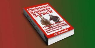 "romantic fiction box set ""Christmas Romance 3-Pack"" by J.E. Zavada"
