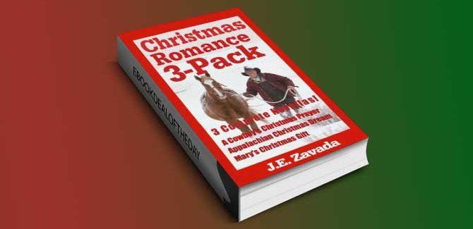 romantic fiction box set Christmas Romance 3-Pack by J.E. Zavada