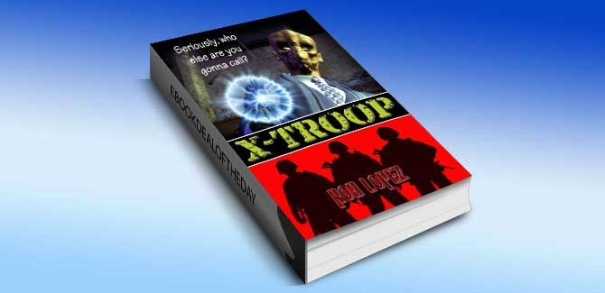 science fiction ebook X-Troop by Rob Lopez