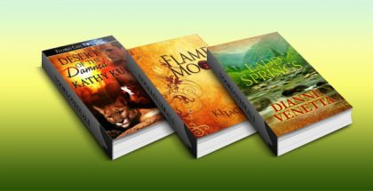 Free Three Paranormal, Fantasy, Mystery & Romance Nook books!