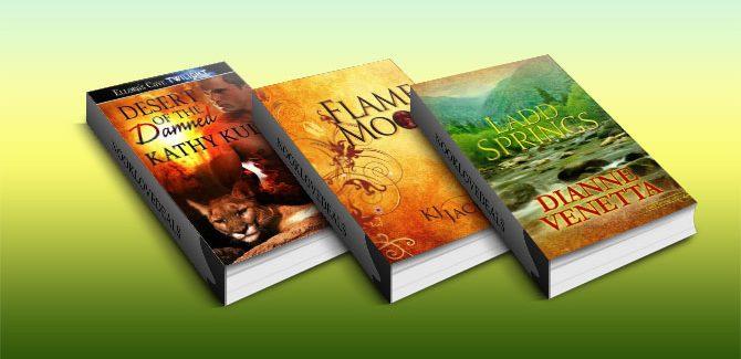 Free Three Paranormal, Fantasy, Mystery & Romance Nook books!