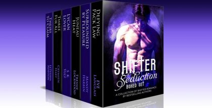 "a paranormal romance boxed set ""Shifter Seduction Boxed Set"" by Mandy Harbin, Eve Langlais, Tressie Lockwood, S.K. Yule, Crymsyn Hart, LeTeisha Newton"