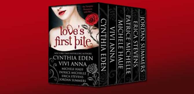 vampire romance boxed set Love's First Bite by Patrice Michelle, Erica Stevens