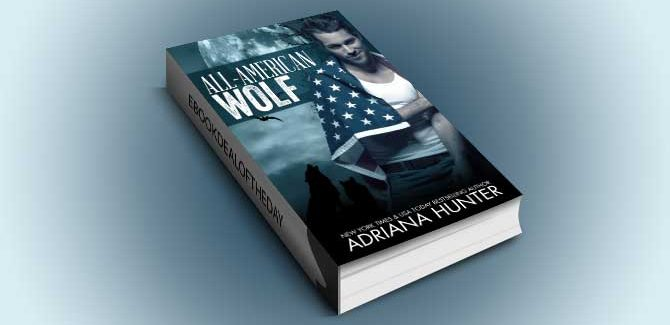 new adult paranormal ebook All American Wolf by Adriana Hunter