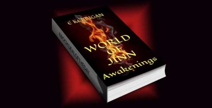 "antasy fiction ebook ""World of Jinn: Awakenings"" by E Kerrigan"