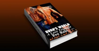 modern romance ebook BURN'S WORLD A Love Triangle (Burn Series) by Eve Rabi