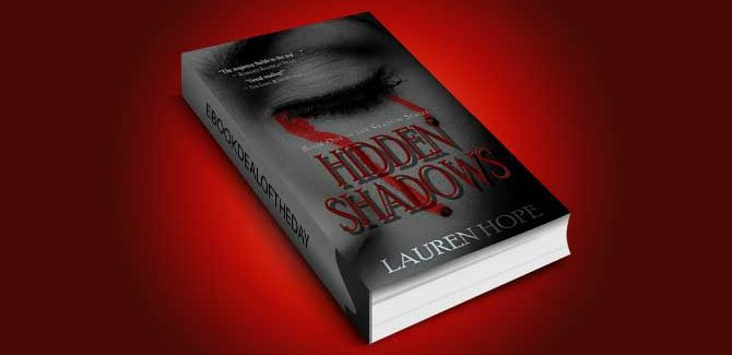 romantic suspense/mystery ebook Hidden Shadows by Lauren Hope
