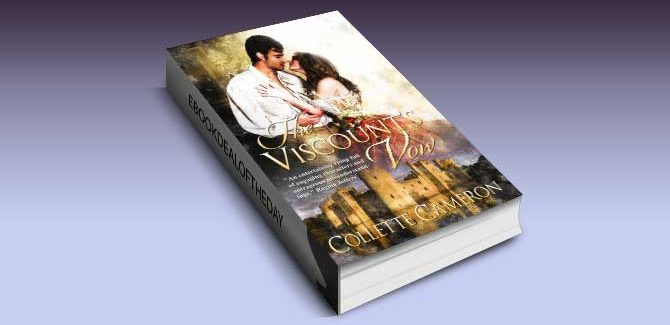 historical regency romance ebook The Viscount's Vow by Collette Cameron