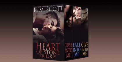 "contemporary romance box set ""Heart of Stone Trilogy Box Set"" by K.M. Scott"