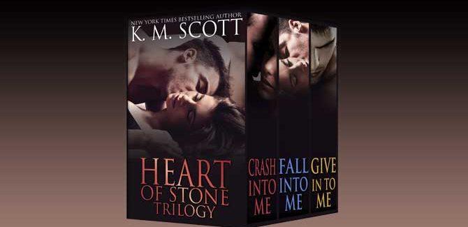 contemporary romance box set Heart of Stone Trilogy Box Set by K.M. Scott