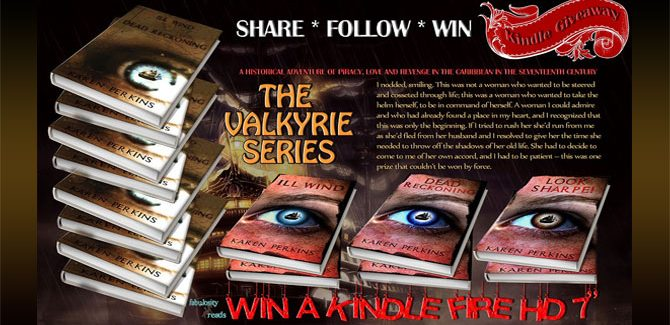 Giveaway: Kindle Fire 7″ and 3 Sets of the Valkyrie Series