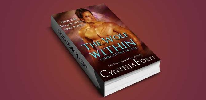 paranormal romantic suspense ebook The Wolf Within by Cynthia Eden