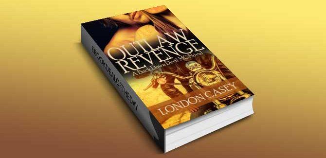 newadutl romantic suspense OUTLAW REVENGE (A Back Down Devil MC Romance Novel) by London Casey