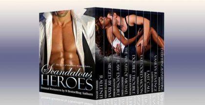 """romance boxed set """"Scandalous Heroes Boxed Set"""" by Sienna Mynx, Yvette Hines, Bridget Midway, Aliyah Burke"""