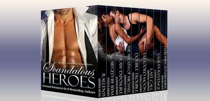 romance boxed set Scandalous Heroes Boxed Set by Sienna Mynx, Yvette Hines, Bridget Midway, Aliyah Burke