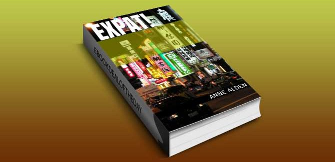women's contemporary fiction ebook EXPAT! by Anne Alden