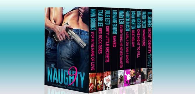romance boxed set The Naughty Nine: Where Danger and Passion Collide by various authors