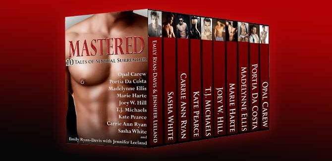 romance box set MASTERED: TEN TALES OF SENSUAL SURRENDER by multiple authors