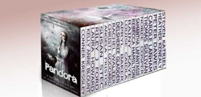 paranormal fantasy romance box set PANDORA by Rebecca Hamilton, Riley J. Ford