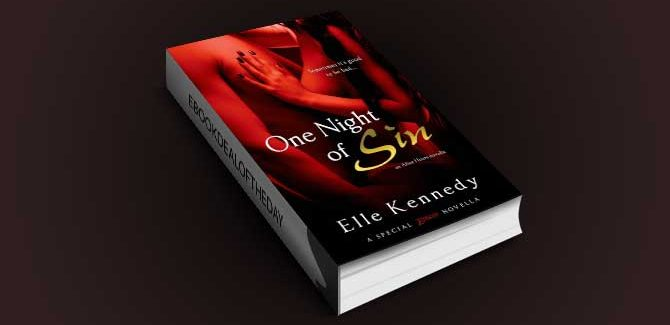 sexy contemporary romance ebook One Night of Sin by Elle Kennedy