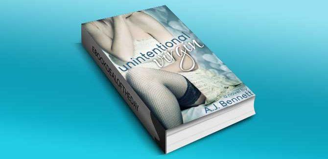 new adult contemporary romance Unintentional Virgin by A.J. Bennett